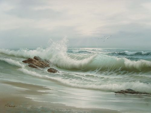 painting by Schubert