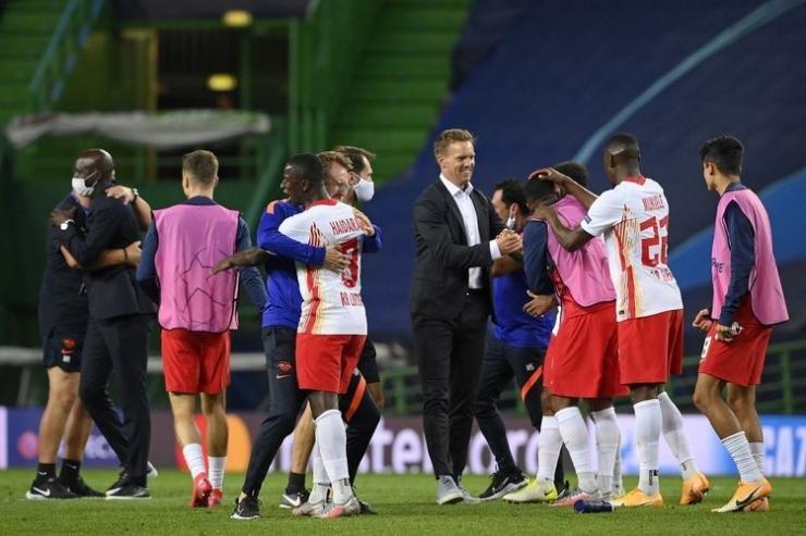 RB Leipzig, tim kejutan Liga Champion (Sumber : bol.kompas.com)