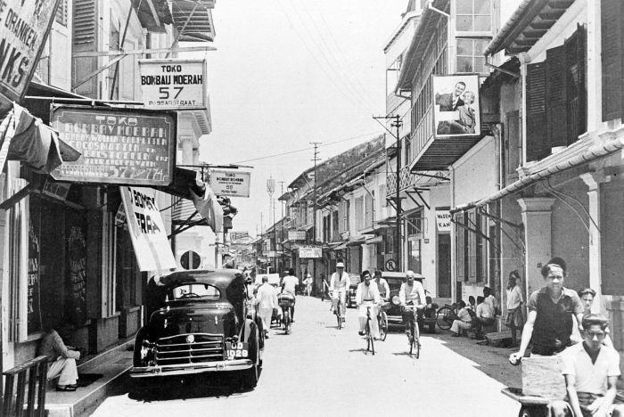 Foto Pecinan Kota Makassar jaman dulu (sumber: sulsel.idntimes.com)