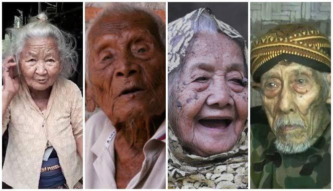 Empat manusia tertua di Indonesia (bombastis.com)