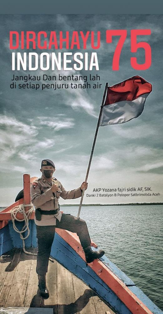 Komandan Kompi II Batalyon B Pelopor Sat Brimob Polda Aceh, AKP Yozana Fajri sidik AF (Foto: Dok. Pribadi).