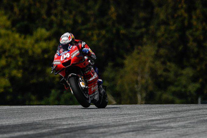 Andrea Dovizioso kembali menjadi pemenang (ke-3 kalinya) di seri Red Bull Ring, Austria (16/8). Gambar: Motogp.com