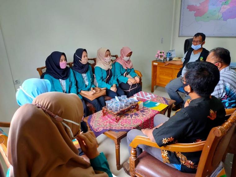 Pengarahan dan Koordinasi dari Kecamatan Ajibarang(dokpri)