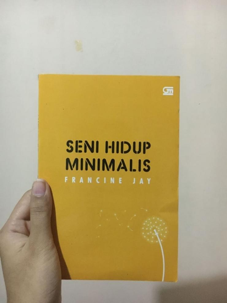 buku seni hidup minimalis Karya Freanine Jay  | dokpri