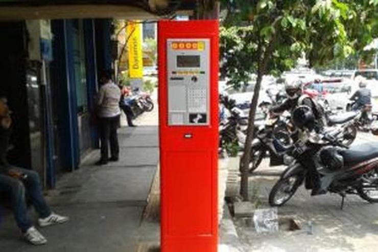 Meteran parkir di Jalan Sabang, Jakarta Pusat.(Kompas.com/Andri Donnal Putera)