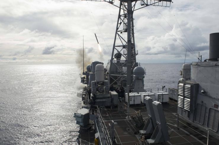 Rudal Tomahawk US Navy. (Foto: Seaman David Flewellyn via dvidshub.net)