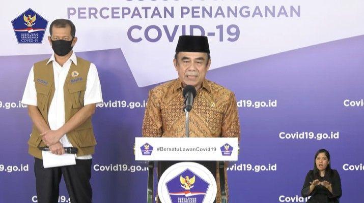 Menteri Agama Fachrul Razi. Sumber: BPNP di laman cnbcindonesi.com