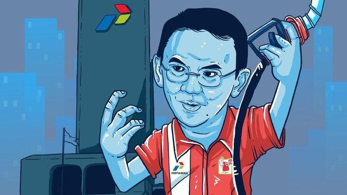 Ahok. Sumber : cnbcindonesia.com