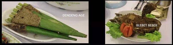 Makanan keraton Yogyakarta masa Hamengkubuwono (Sumber: Makalah Prof. Murdijati)