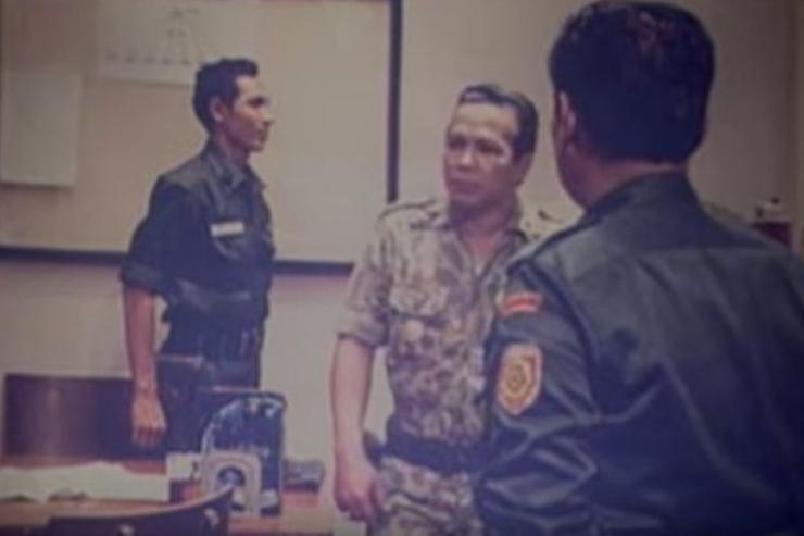 Salah satu adegan film G 30S PKI. Foto tangkapan layar youtube yang dipublikasikan Kompas.com