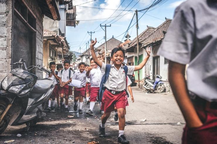 ILUSTRASI anak sekolah. (pexels.com)