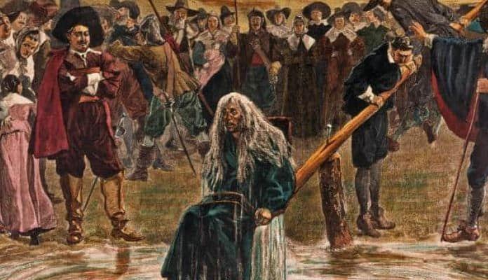 Ilustrasi Perburuan dan Eksekusi Penyihir (sumber: idntimes.com)