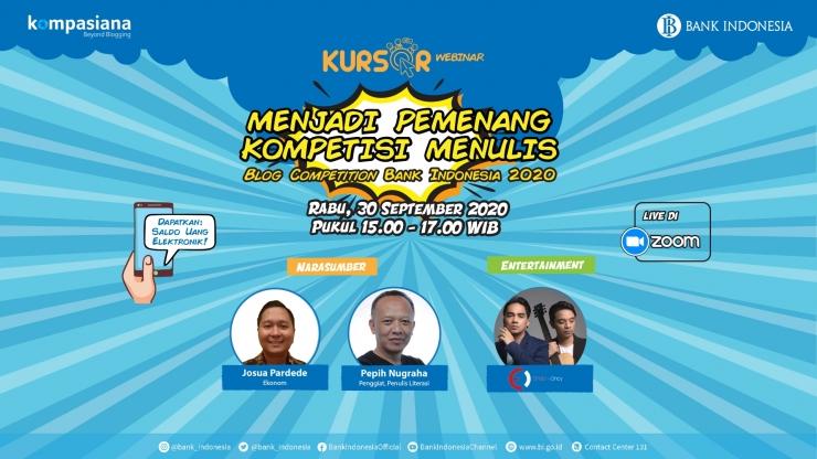 Kursor Webinar Bank Indonesia 2020