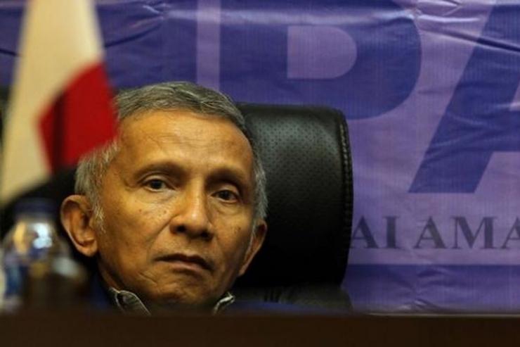 Pendiri dan mantan Ketua Partai Amanat Nasional Amien Rais (TRIBUNNEWS / DANY PERMANA) via kompas.com