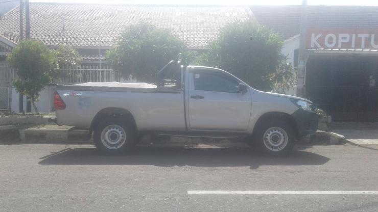 Foto Toyota Hilux Bermesin Diesel.Dokumentasi Pribadi.