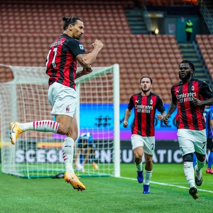 Milan kembali meraih kemenangan dilanjutan Serie A (sumber : instagram.com/acmilan)