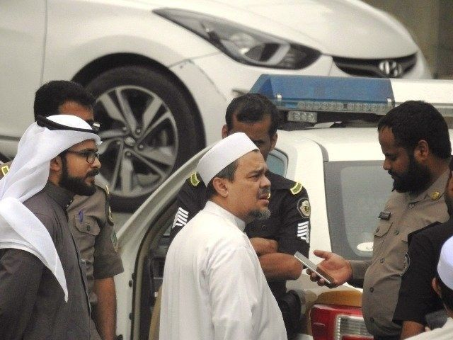 Habib Rizieq ketika menghadapi masalah hukum di Saudi. Foto | Minews.com