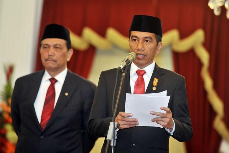 Ilustrasi gambar Presiden Jokowi didampingi Nenko Marves RI Luhut BP | Dokumen Foto milik Yudhi M/Antara via Republika.co.id