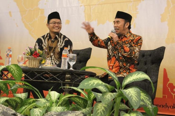 Pak Prie GS bersama Pak Pak Rafi (Foto : Tim PK 144)