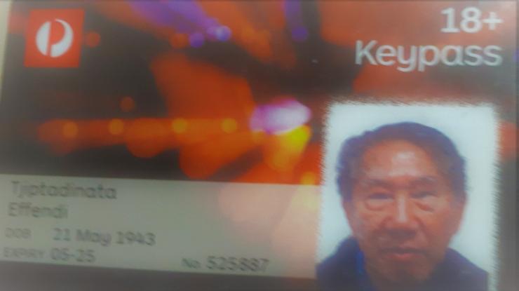 Ket. foto: Keypass sebagai Kartu Identitas/dok.pribadi