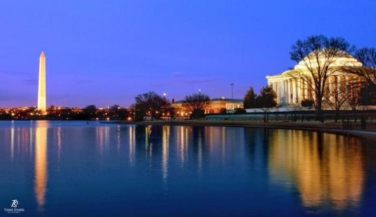 Monumen Washington & Jefferson Memorial. Sumber: koleksi pribadi