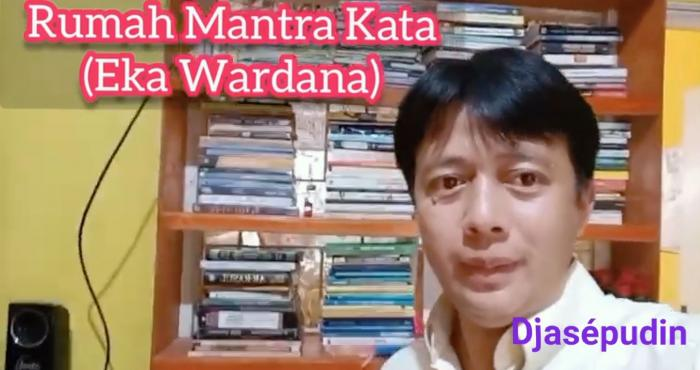 Rumah Mantra Kata yang dikelola Eka Wardana