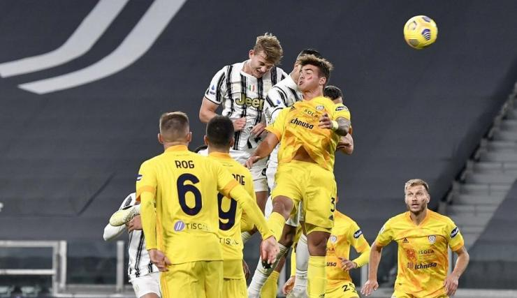 Kembalinya Matthijs de Ligt menandai kemenangan Juventus atas Cagliari subuh tadi | Sumber: Juventus.com