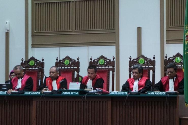 Sebuah sidang pengadilan (foto: kompas.com)