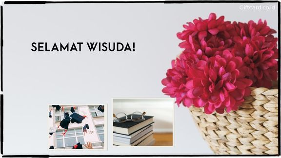 Ucapan Selamat Wisuda / Giftcard ID