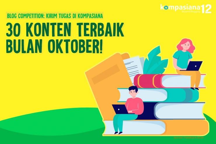 Pengumuman pemenang Kirim Tugas di Kompasiana bulan Oktober (Dok. Kompasiana)