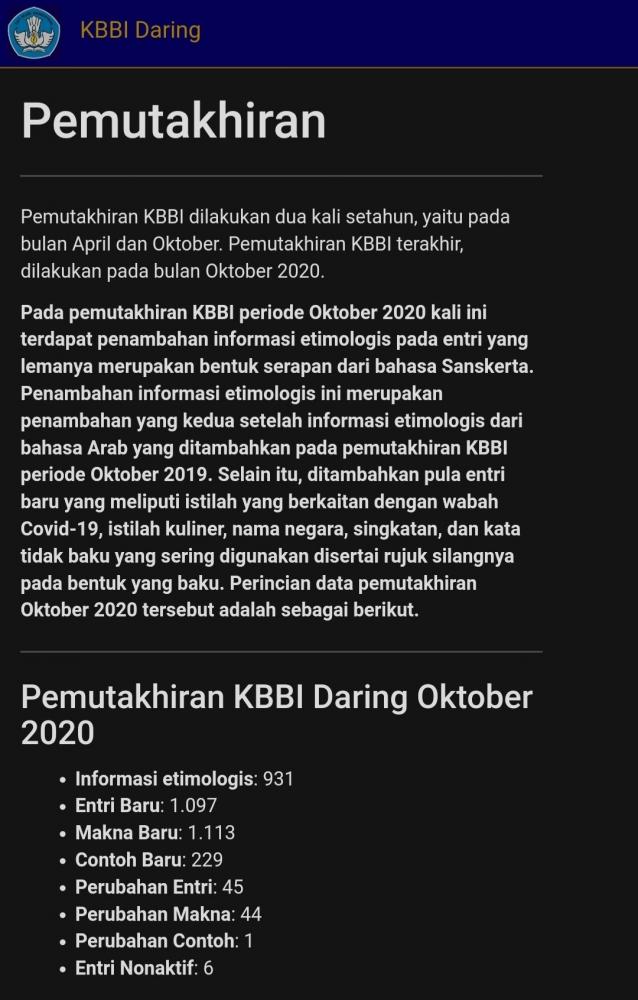 Halo Masyarakat Indonesia Kini Bahasa Indonesia Telah Dimutakhirkan Halaman All Kompasiana Com