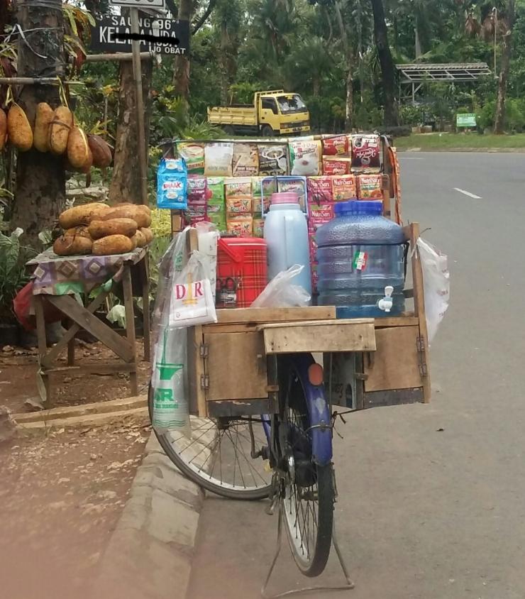 Penjual minuman dingin (DokPri)