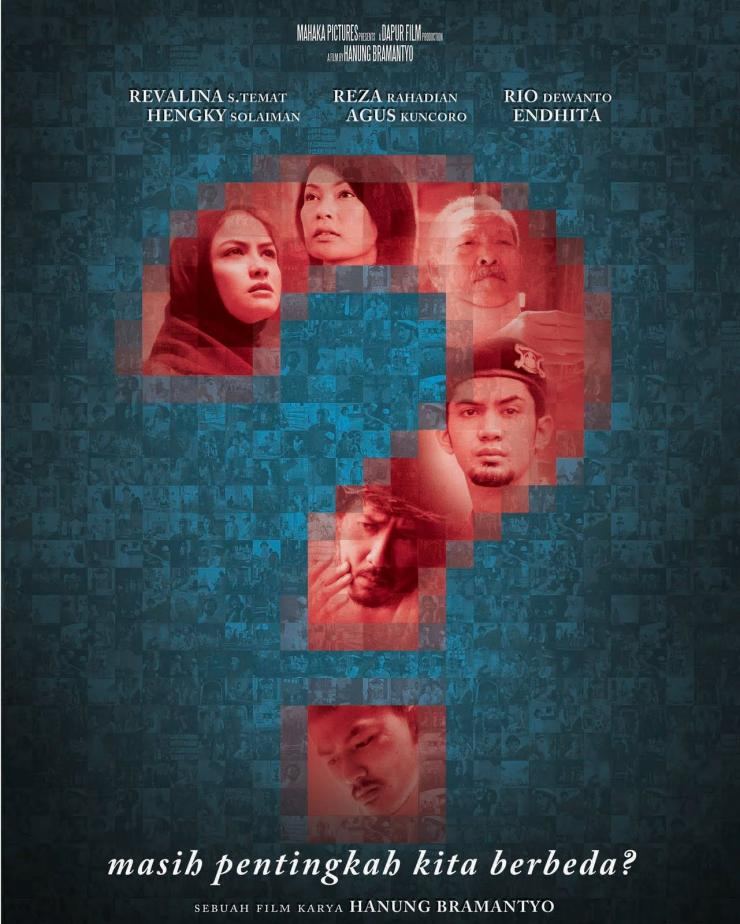 Poster Film Tanda Tanya (2011)Sumber : imdb.com