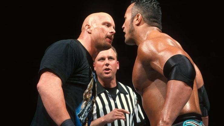 Dua rivalitas terbesar di dunia gulat profesional, antara Dwayne