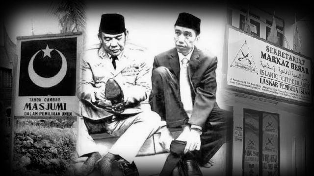 Soekarno (kiri) dan Jokowi (kanan). Sumber foto : kompas.com