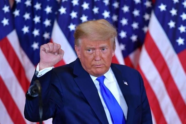 Presiden Donald Trump. (Foto: AP via Kompas.com)