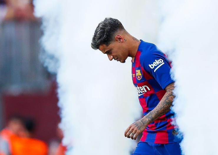 Philippe Coutinho, pemegang rekor transfer termahal di bursa transfer musim dingin. Foto: Getty Images via finance.yahoo.com