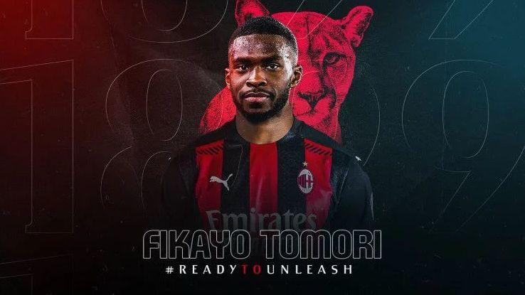 Rekrutan teranyar AC Milan, Fikayo Tomori. Foto: twitter.com/@acmilan via indosport.com