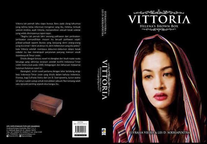 Buku kisah cinta Vittoria Helena's Brown Box (id.globalvoices.org)
