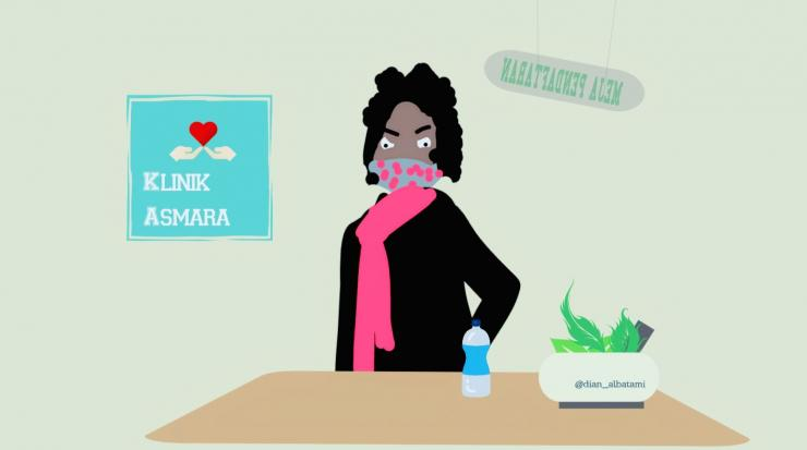 Ilustrasi Klinik Asmara Pasien Pertama /Dokpri