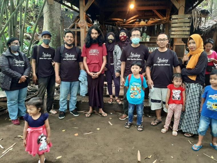 Sahabat Bolang Kompasina bersama Rohmat Yasin (dok.pri)