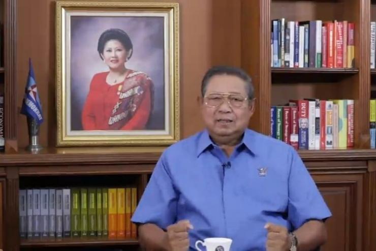 Ketua Majelis Tinggi Partai Demokrat, Susilo Bambang Yudhoyono (kompas.com)