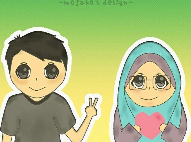 Ilustrasi persahabatan (by mojako's design)cikimm.com)