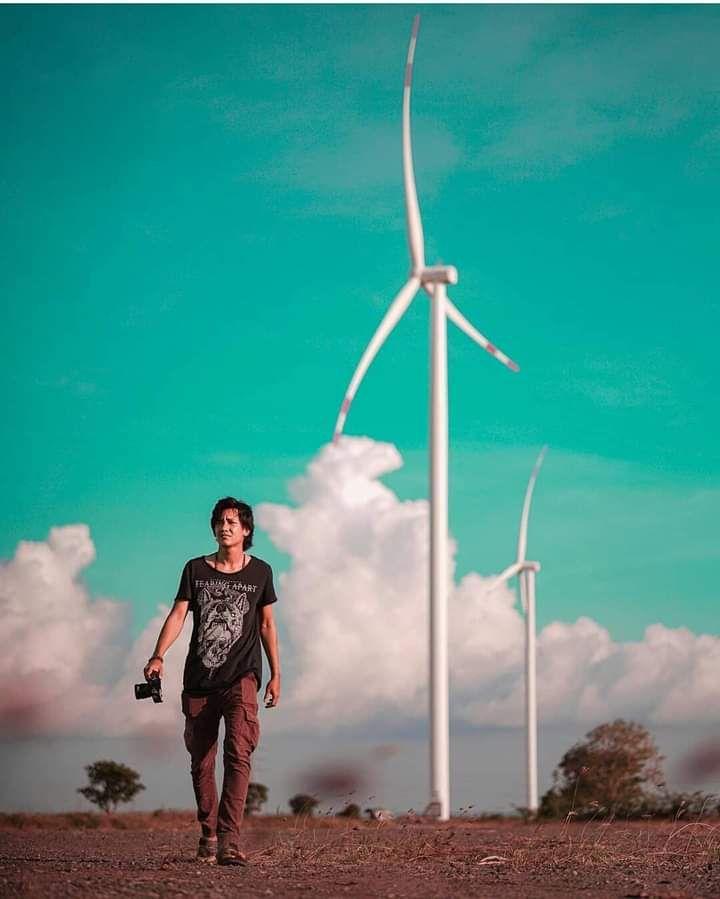 Kincir angin di tanah Turatea: lengang (Foto: Genpi Jeneponto)