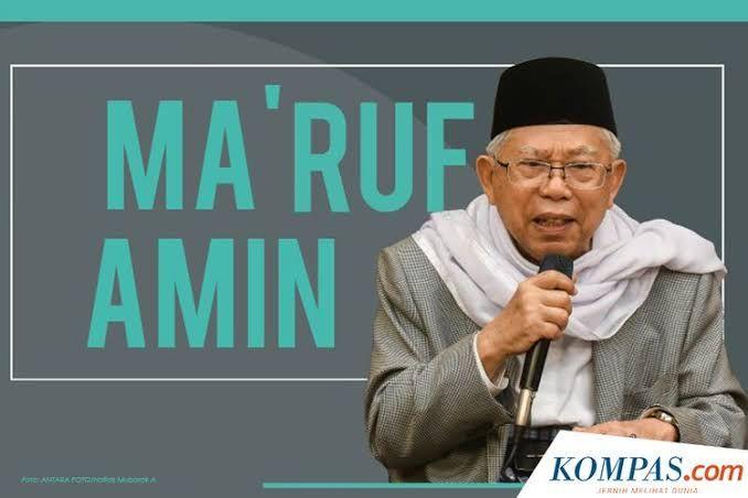 Maruf Amin (Kompascom)