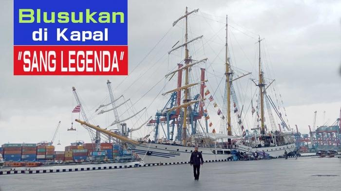 KRI Dewa Ruci di Pelabuhan Tanjung Priok. (Foto Dokpri)