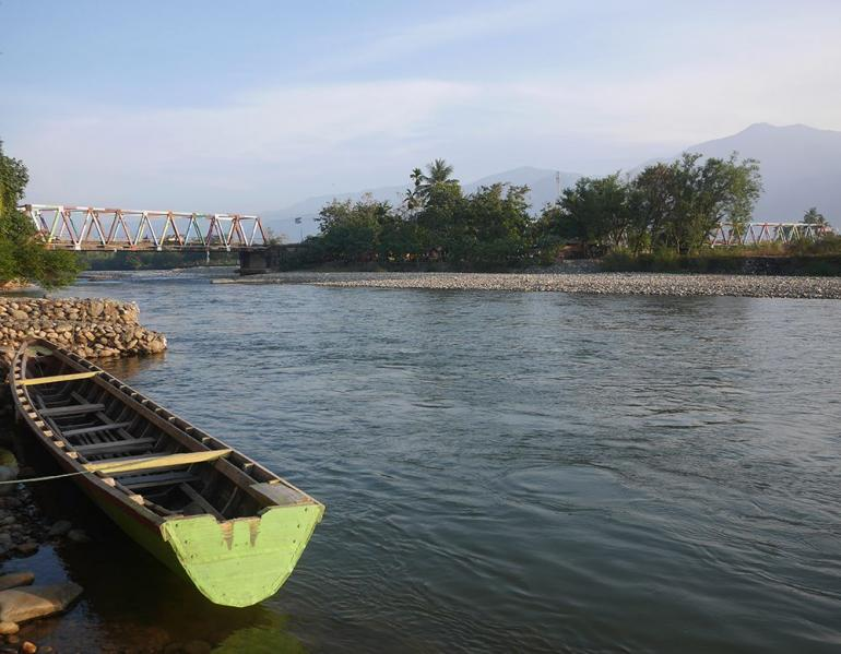 Sungai Alas, Sungai terpanjang di Aceh (foto pribadi)