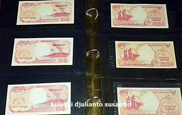 Uang bergambar pinisi yang sering ditawarkan dengan harga tinggi (Dokpri)