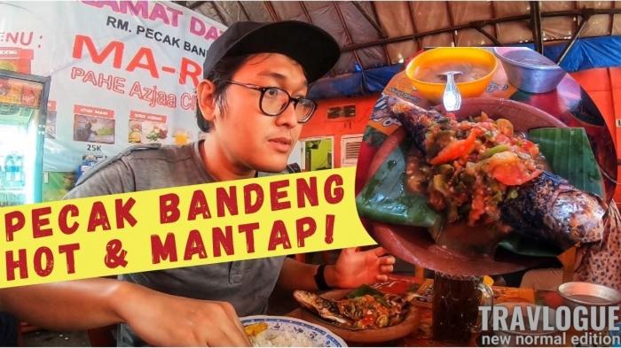 Kuliner pecak bandeng di Serang (Dokumentasi pribadi)
