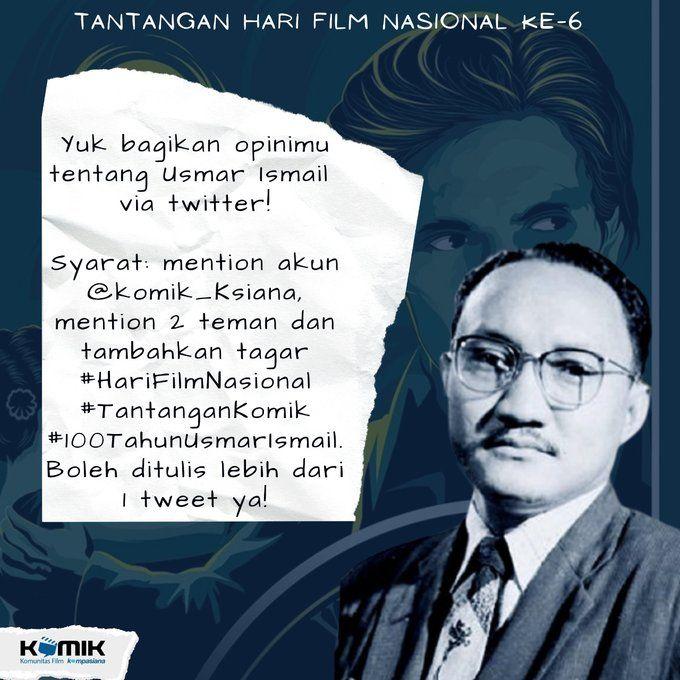 Bagikan opini Kalian tentang Usmar Ismail (dok. KOMiK)